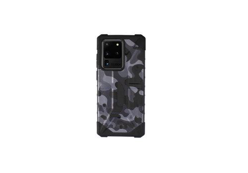Colorfone Stoßfeste Army S20 Ultra Black