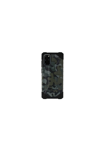 Colorfone Shockproof Army S20 Plus Groen
