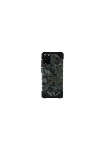 Colorfone Stoßfeste Army S20 Plus Grün