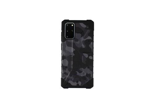 Colorfone Stoßfeste Army S20 Plus Schwarz