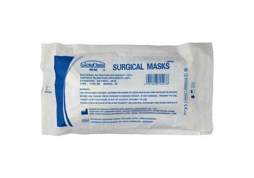 ShengGuang Medical Surgical Mask IIR 3-lagig 10 Stk.