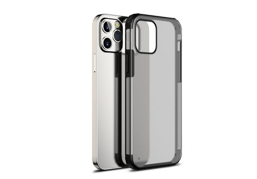 Devia Pioneer Shockproof Case iPhone 12 Mini 5.4'' Zwart