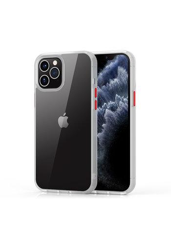 Devia Shark Shockproof Case iPhone 12/12 Pro 6.1 '' Weiß