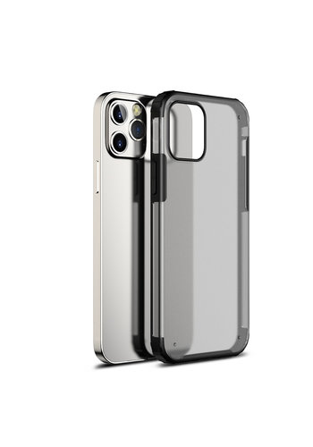 Devia Pioneer Shockproof Case iPhone 12/12 Pro 6.1'' Zwart