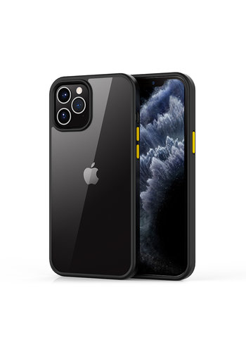 Devia Shark Shockproof Case iPhone 12 Pro Max 6.7'' Zwart