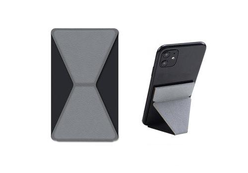Devia Telefoon Sticker Standaard + Houder Zwart