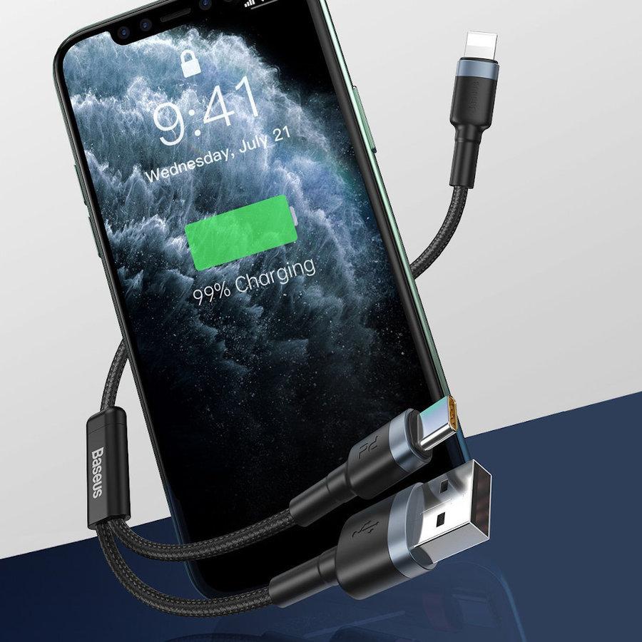 2-in1 Kabel USB naar Type-C en Lightning