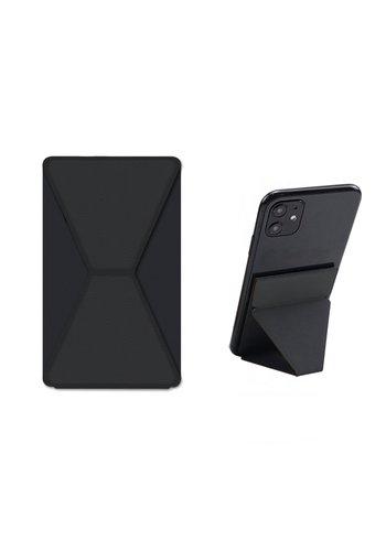 Devia Phone Sticker Stand + Holder Black