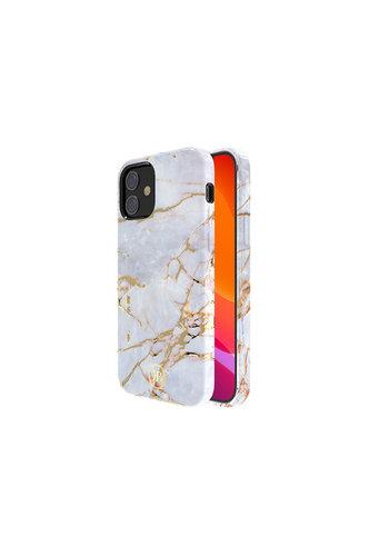 Kingxbar Jade BackCover iPhone 12 Pro Max 6.7'' Wit