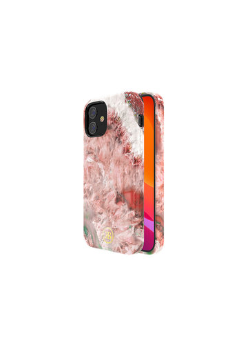 Kingxbar Crystal BackCover iPhone 12/12 Pro 6.1 '' Red