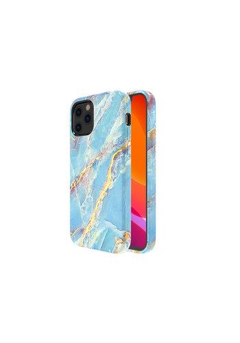 Kingxbar Jade BackCover iPhone 12/12 Pro 6,1 '' Niebieski