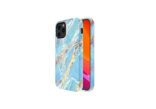 Kingxbar Jade BackCover iPhone 12/12 Pro 6.1 '' Blau