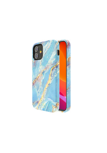 Kingxbar Jade BackCover iPhone 12 mini 5.4'' Blauw