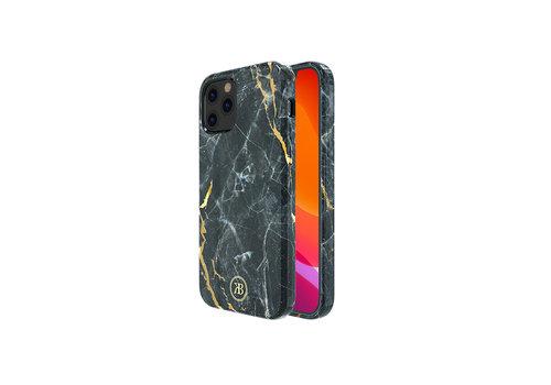 Kingxbar Jade BackCover iPhone 12/12 Pro 6.1 '' Schwarz