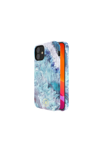 Kingxbar Crystal BackCover iPhone 12 mini 5.4'' Blauw