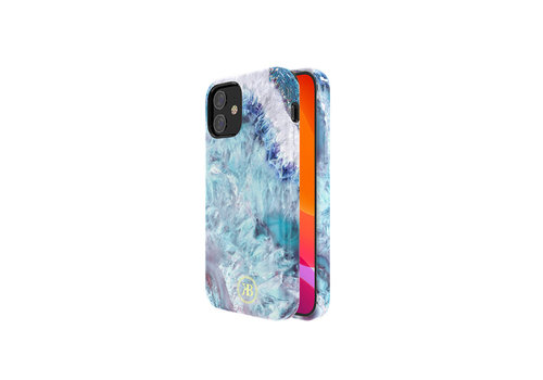 Kingxbar Crystal BackCover iPhone 12 mini 5.4 '' Blau