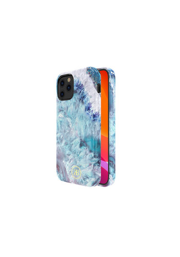 Kingxbar Crystal BackCover iPhone 12/12 Pro 6,1 '' niebieski