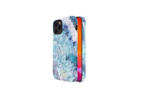 Kingxbar Crystal BackCover iPhone 12/12 Pro 6.1 '' Blau