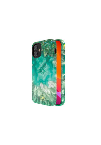 Kingxbar Crystal BackCover iPhone 12 mini 5.4'' Groen