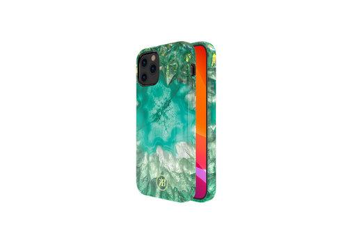 Kingxbar Crystal BackCover iPhone 12/12 Pro 6.1 '' Grün
