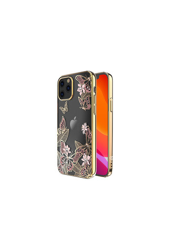 Kingxbar Butterfly BackCover iPhone 12/12 Pro 6.1'' Roze