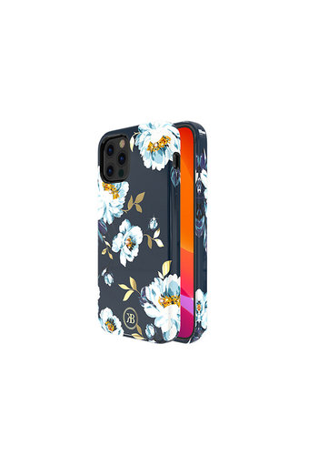 Kingxbar Flower BackCover iPhone 12/12 Pro 6.1'' Gardenia