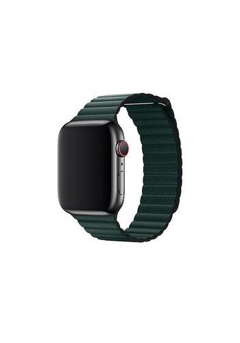 Devia Apple watch Lederband 42 / 44mm Grün
