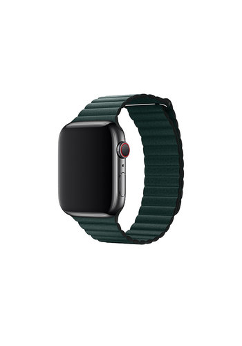 Devia Apple watch Leren band 42/44 mm Groen