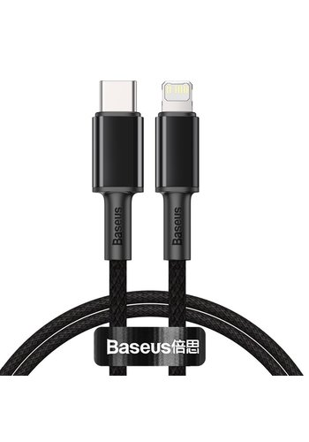 Baseus Fast Charging 20W Cable Type-C to Lightning 1m Black