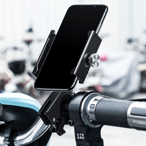 Bicycle and motorcycle phone holder