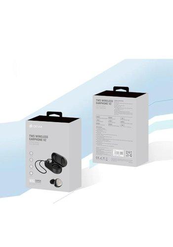 Devia TWS Draadloze earphones BT 5.0