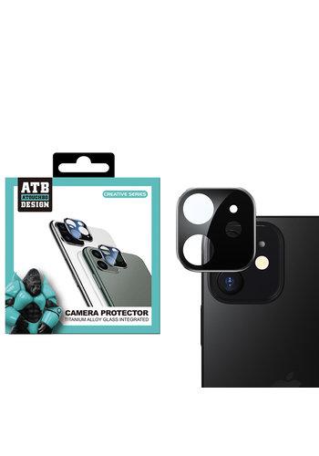 ATB Design Osłona obiektywu aparatu ze szkła hartowanego Titanium + iPhone 12 Mini