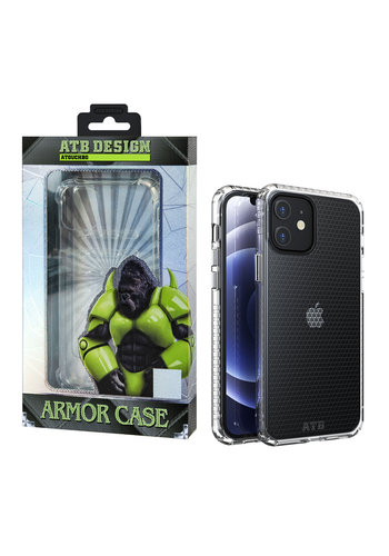ATB Design Etui HoneyComb z TPU na iPhone 12 Mini