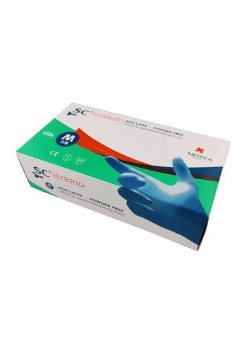 Medizinische Hybridhandschuhe Größe M.