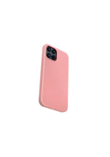 Devia Płynny silikon iPhone 12/12 Pro (6,1 '') różowy