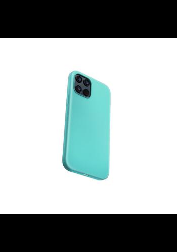 Devia Flüssiges Silikon iPhone 12 Pro Max (6,7 '') Grün