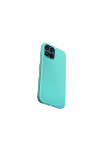 Devia Flüssiges Silikon iPhone 12/12 Pro (6.1 '') Grün