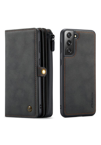 CaseMe Multi Wallet for S21 Plus Black