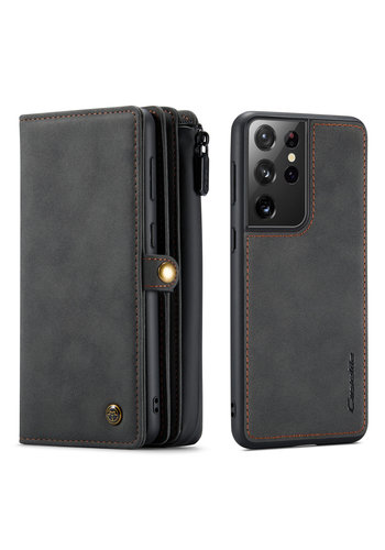 CaseMe Multi Wallet für S21 Ultra Black