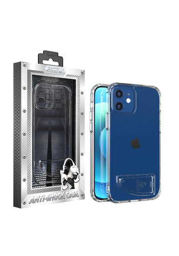 Atouchbo Anti Shock + Standaard Hoesje iPhone 12/12 Pro 6.1''