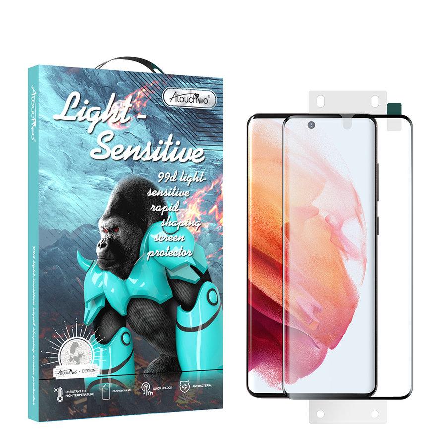99D Nano Glas Displayschutzfolie Samsung S21