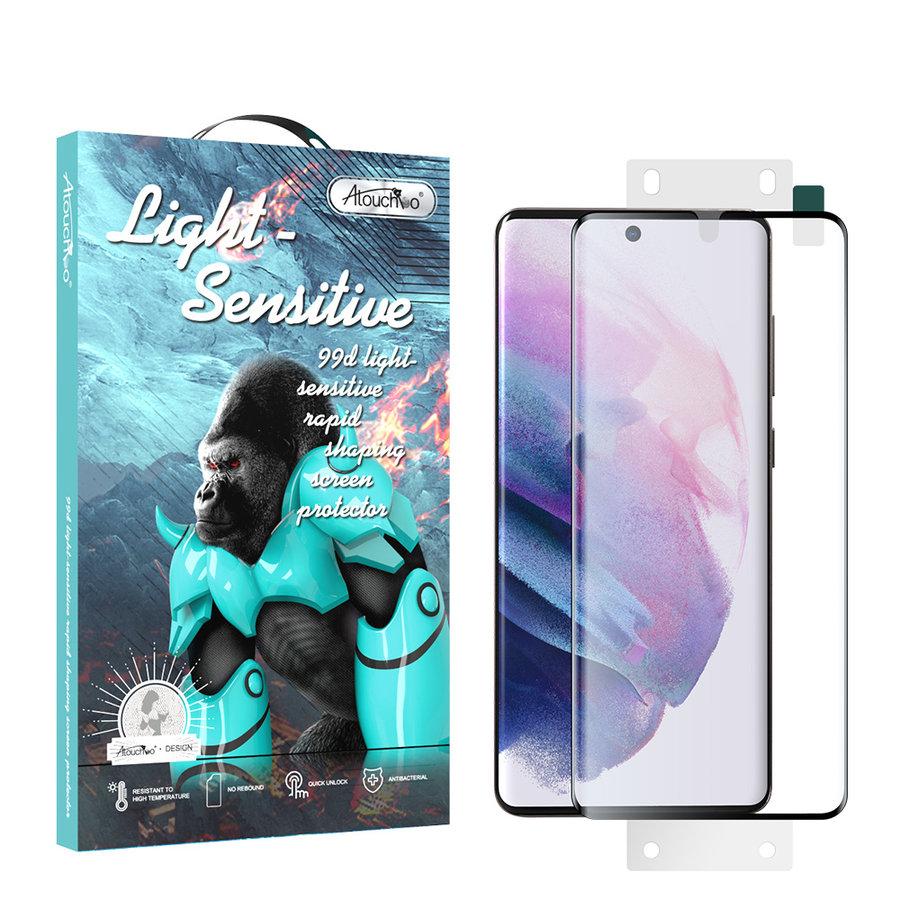 99D Nano Glas Displayschutzfolie Samsung S21 Plus