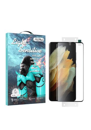 Atouchbo 99D Nano Glas Displayschutzfolie Samsung S21 Ultra