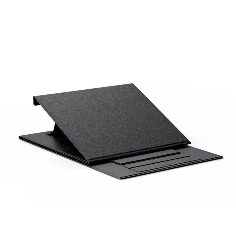Opvouwbare laptopstandaard zwart