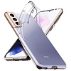 Colorfone Pokrowiec Coolskin3T do telefonu Samsung S21 Transparent White