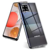 Pokrowiec Coolskin3T do telefonu Samsung A42 Transparent White