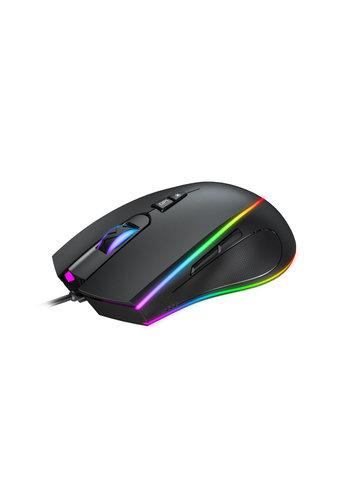 Havit MS1017 Gaming-Maus - 6400 DPI - RGB beleuchtet