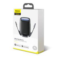 Autohouder 15W Wireless Charger   Elektrische Vergrendeling