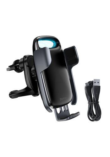 Baseus Autohouder 15W Wireless Charger | Elektrische Vergrendeling
