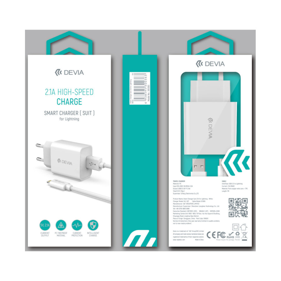 Adapter + USB Lightning 1m Set